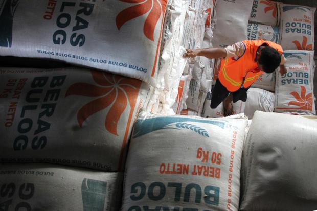 bulog, anggaran, subsidi, beras
