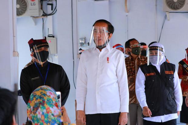 Tinjau Penanganan Corona, Jokowi Gelar Kunjungan Kerja ke Jawa Tengah.