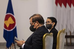 PRESIDEN MENGHADIRI KTT ASEAN SECARA VIRTUAL