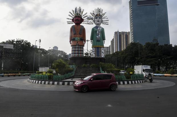 Satgas Covid-19: Lima Kota di Jakarta Masuk Zona Merah Corona