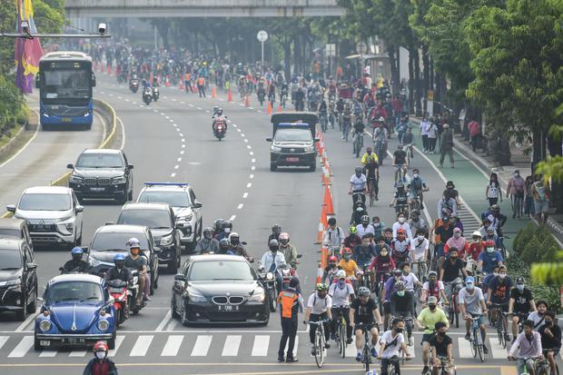 PSSB Jakarta Diperpanjang, CFD & Kemeriahan 17 Agustus Ditiadakan.