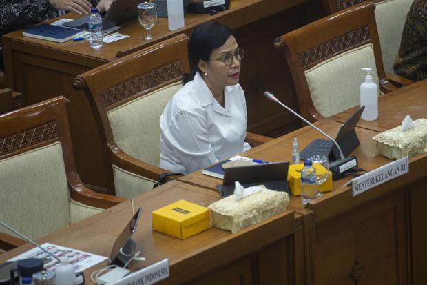 Ilustrasi, Menteri Keuangan Sri Mulyani Indrawati. Sri Mulyani merilis keputusan pemberian bantuan pulsa dan paket data untuk PNS hingga Rp 400.000 per orang per bulan.