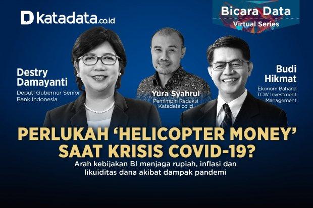 Bicara Data: Perlukah Helicopter Money Saat Krisis Covid-19
