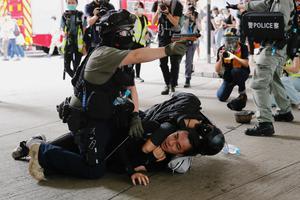 HONGKONG-PROTESTS-ANNIVERSARY