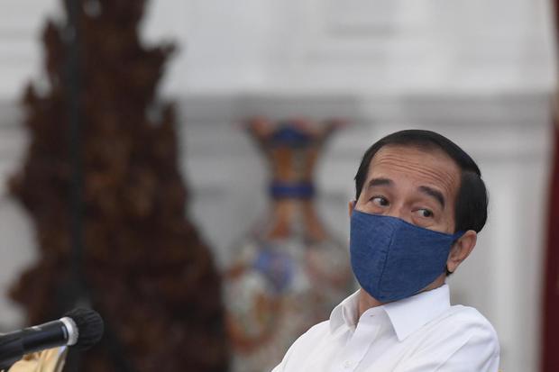 Ilustrasi Presiden Joko Widodo (Jokowi). Jokowi akan mencabut Keppres Nomor 34/P Tahun 2020 tentang pemecatan secara tidak hormat Anggota Komisioner KPU Evi Novida Ginting.