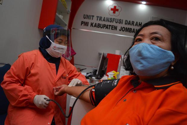 stok darah PMI, PMI, pandemi covid-19