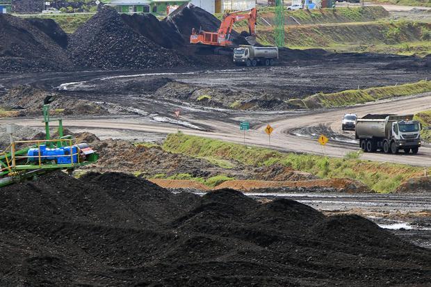 Ilustrasi batu bara.