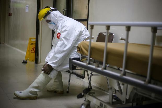 satgas covid-19, rumah sakit, covid-19, virus corona, pandemi corona, pandemi, jakarta, gerakan 3M