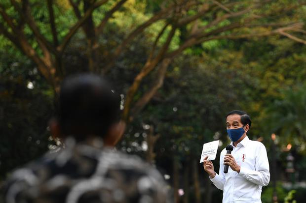 Dorong Ekonomi Saat Corona, Jokowi Sebut Investasi Tak Bisa Diandalkan.
