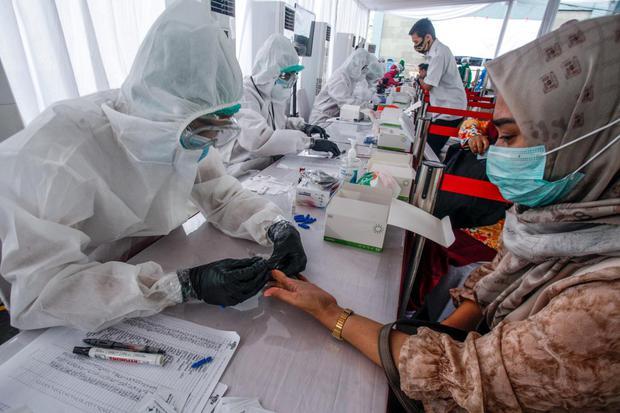 Kasus Covid-19 Bertambah 1.904 Pasien, DKI Jakarta Sumbang 20,8% Kasus.