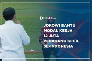 Jokowi Bantu Modal Kerja 12 Juta Pedagang Kecil Se-Indonesia