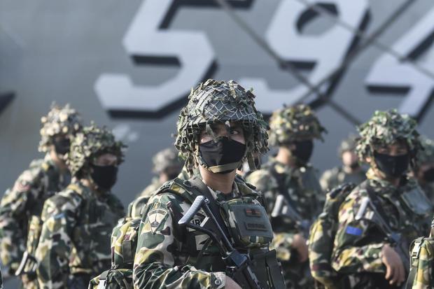 APEL GELAR PASUKAN LATIHAN GELADI TUGAS TEMPUR TNI AL