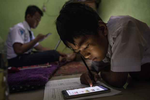 belajar online, digital, pendidikan
