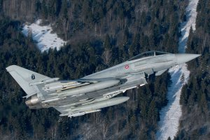 Ilustrasi, jet tempur Eurofighter Typhoon