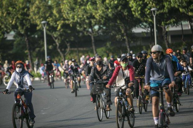 Kemenhub Beri Sinyal Aturan Sepeda Terbit Bulan Ini.