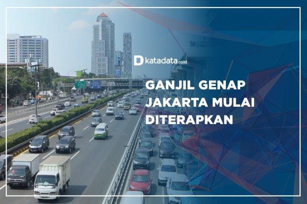 Ganjil Genap Jakarta Mulai Diterapkan