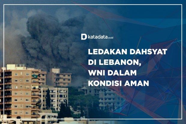 Ledakan Dahsyat di Lebanon, WNI dalam Kondisi Aman
