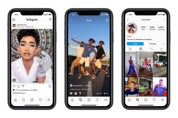 Instagram Luncurkan Fitur Video Pendek Mirip TikTok di 50 Negara