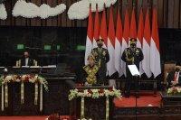 Pidato Presiden Dalam Rangka Laporan Kinerja Lembaga Negara