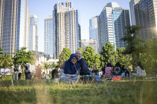 Hutan Kota GBK, Area Piknik di Jantung Ibu Kota