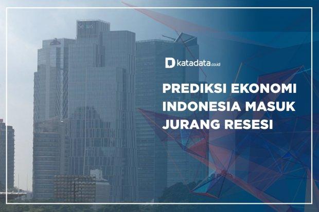 Prediksi Ekonomi Indonesia Masuk Jurang Resesi