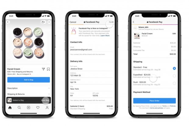 Saingi E-Commerce, Facebook Perkuat Fitur Belanja Online di Instagram