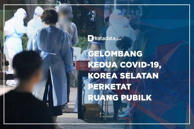 Gelombang Kedua Covid-19, Korea Selatan Perketat Ruang Pubilk