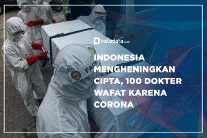 Indonesia Mengheningkan Cipta, 100 Dokter Wafat Karena Corona