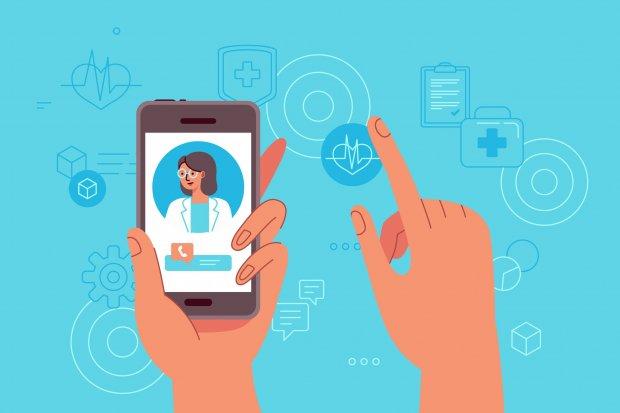 Ilustrasi Aplikasi Kesehatan