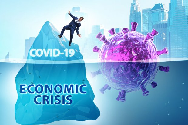 Ilustrasi HL Krisis ekonomi akibat pandemi covid-19