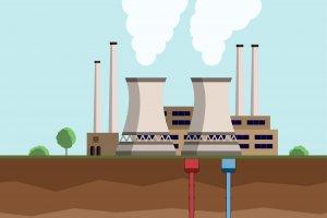 Ilustrasi geothermal
