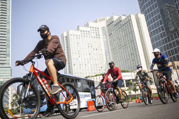 sepeda, perhubungan, transportasi