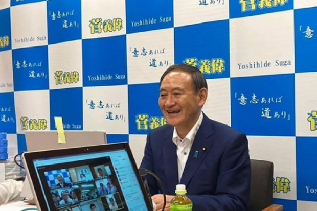 Yoshihide Suga terpilih untuk menggantikan Shinzo Abe sebagai Perdana Menteri Jepang, Rabu (16/9).