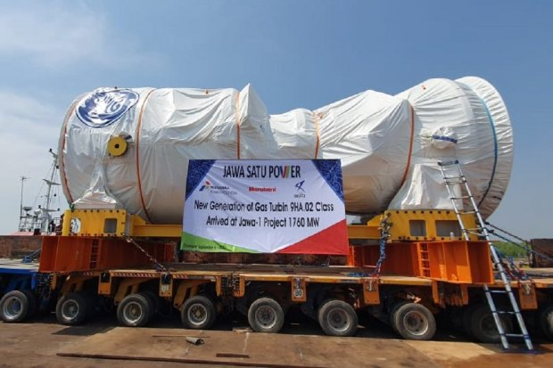 pltgu jawa-1, gas turbin, ge, pertamina power indonesia