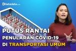 Putus Rantai Penularan Covid-19 di Transportasi Umum