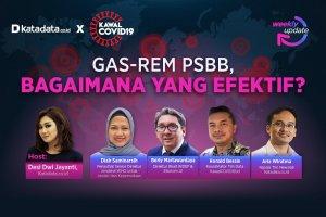 Gas-Rem PSBB, Bagaimana yang Efektif?