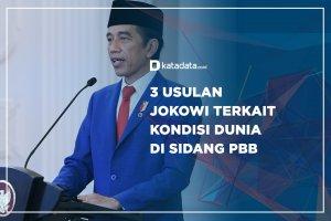 3 Usulan Jokowi Terkait Kondisi Dunia di Sidang PBB