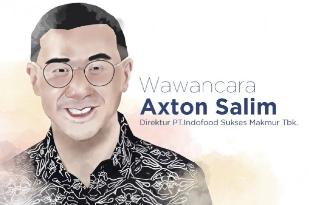Direktur PT Indofood Sukses Makmur Tbk Axton Salim