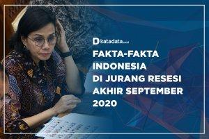 Fakta-fakta Indonesia di jurang Resesi Akhir Semptember 2020
