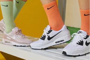 Ilustrasi sepatu Nike.Inc. Nike mencatat kenaikan penjualan online sebsar 82% pada kuartal I tahun fiskal 2020.