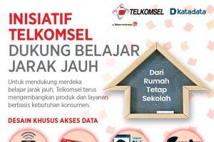 Inisiatif Telkomsel Dukung Belajar Jarak Jauh