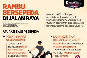 Rambu Bersepeda di Jalan Raya