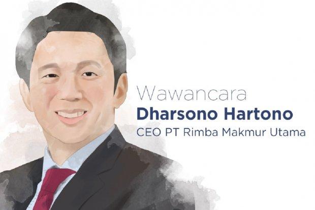 Presdir PT Rimba Makmur Utama Dharsono Hartono
