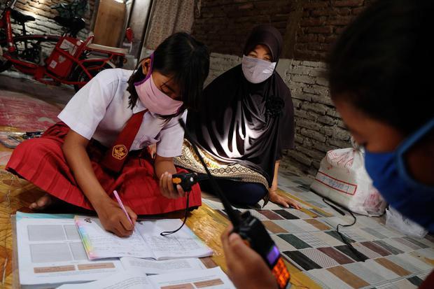 bank dunia, belajar online, pandemi Covid-19