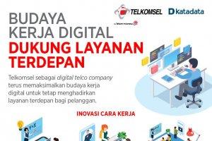 Budaya Kerja Digital Dukung Layanan Terdepan