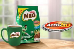 Ilustrasi produk Nestle, Milo. Nestle bakal cantumkan logo pilihan lebih sehat pada produk susunya.