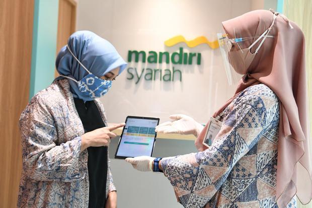 bank syariah merger efektif, layanan perbankan