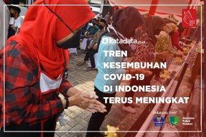 Tren Kesembuhan Covid-19 di Indonesia Terus Meningkat