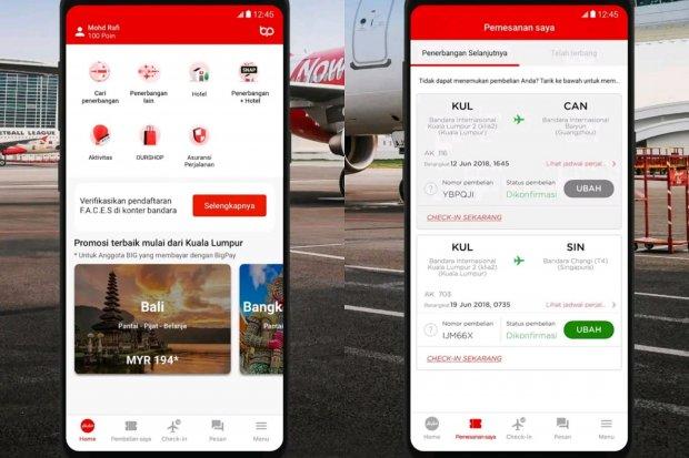 Luncurkan Aplikasi Super, AirAsia Beri Diskon hingga 50%