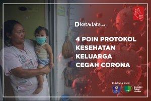 4 Poin Protokol Kesehatan Keluarga Cegah Corona